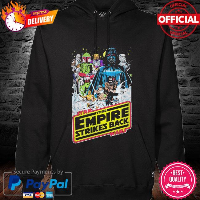 Star Wars The Empire Strikes Back Vintage hoodie black
