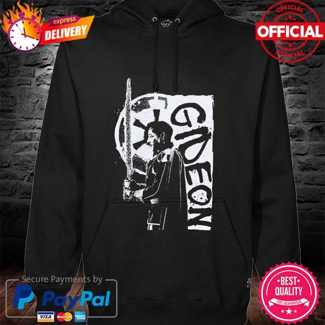 Star Wars The Mandalorian Gideon hoodie black