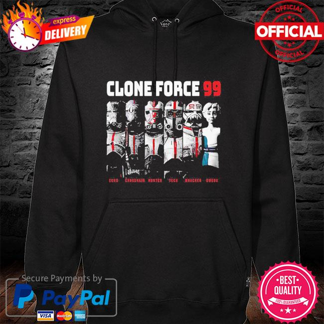 The Bad Batch Clone Force 99 Group Hot Topic Exclusive hoodie black