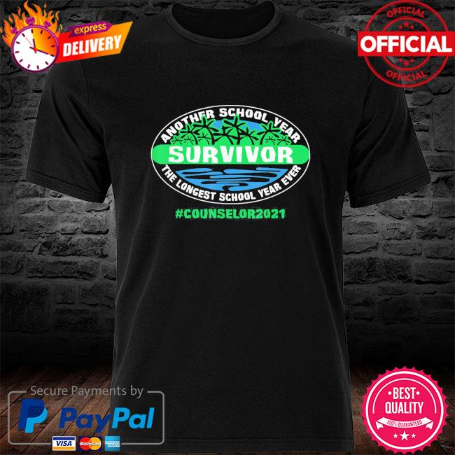 The longest school year ever counselor 2021 shirt