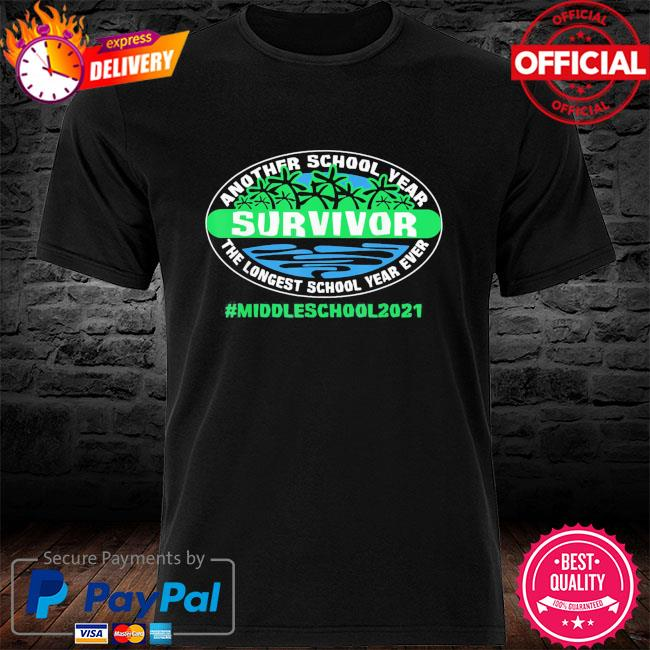 The longest school year ever middle school 2021 shirt