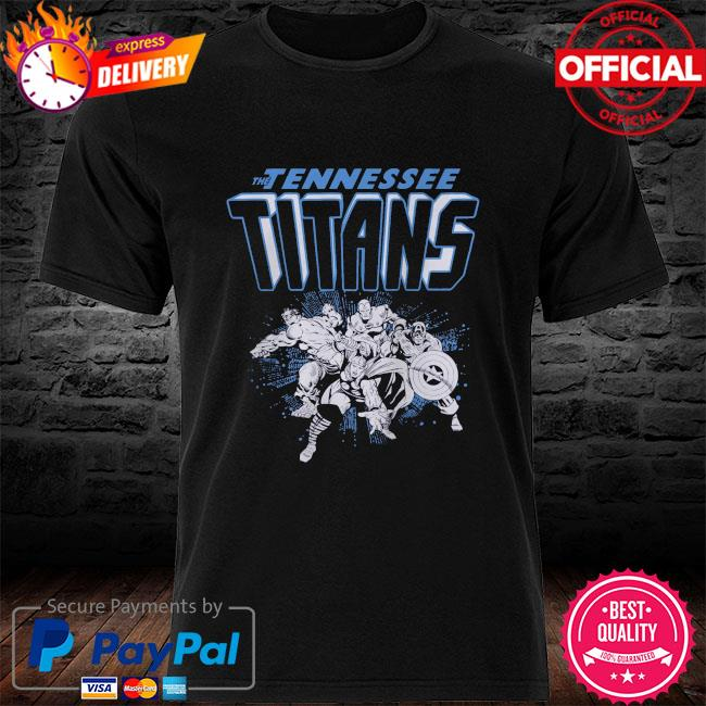 The Tennessee Titans Marvel Avengers shirt