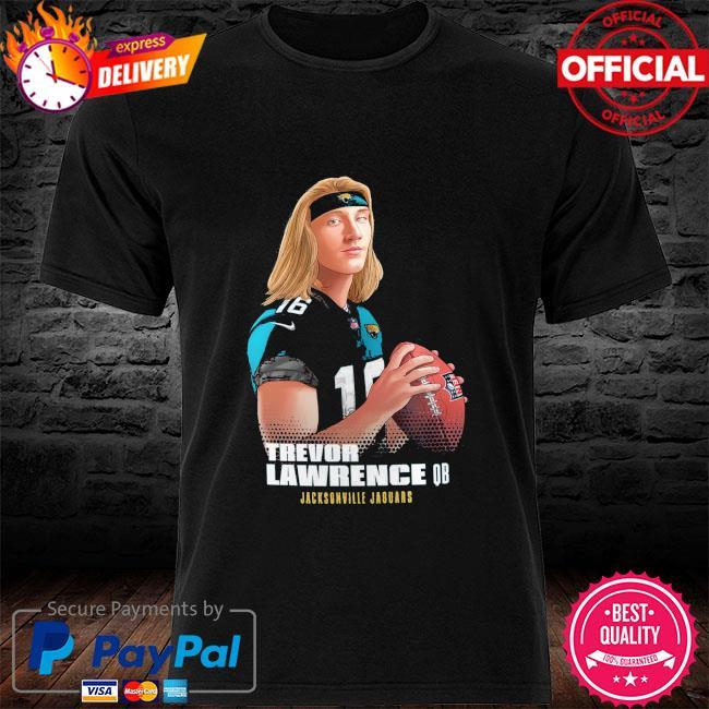 Trevor Lawrence QB Jacksonville Jaguars shirt