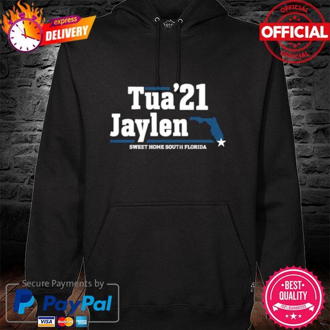 Tua 21 Jaylen sweet home South Florida hoodie black