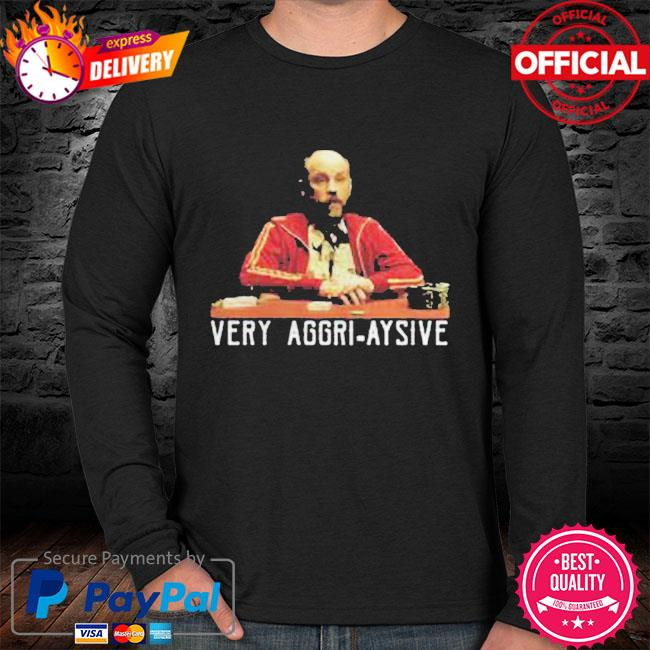 Very aggri aysive s sweater black