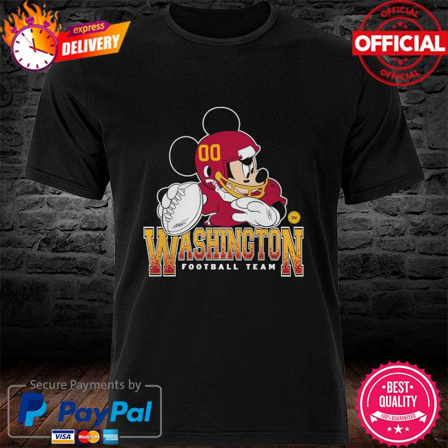 Washington Football Team Disney Mickey shirt