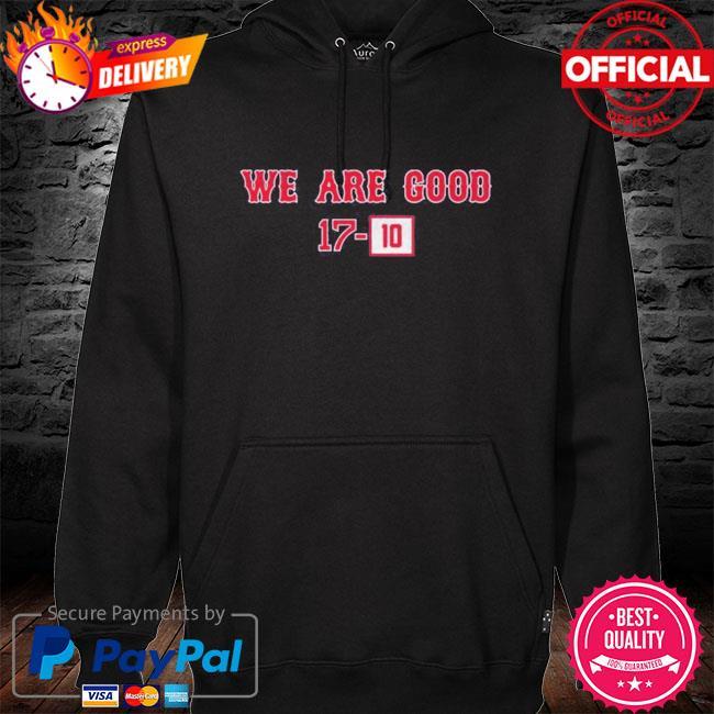 We are good 1710 hoodie black